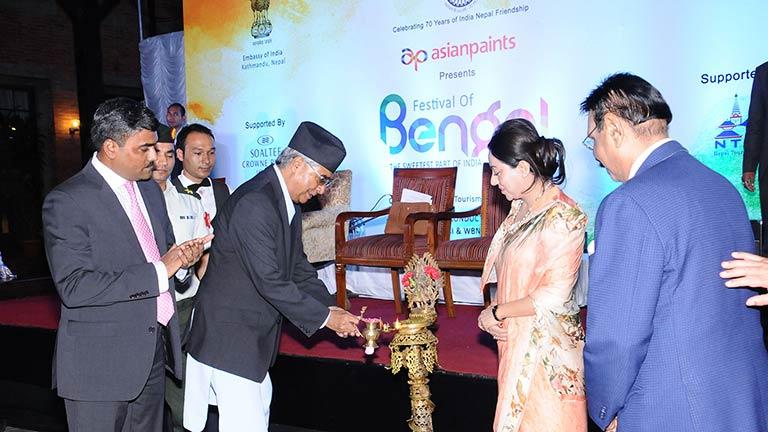 काठमाडौंमा पश्चिम बंगाल पर्यटन तथा व्यापार मेला आयोजना – मुलुकको आर्थिक समृद्धि सरकारको मुख्य प्राथमिकता–प्रधामन्त्री देउवा (२०७४/०५/२१)