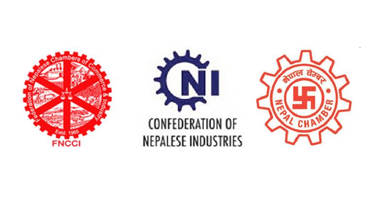 अक्सिजन लगायत अत्यावश्यकीय सामाग्रीको सहज आपूर्तिका लागि नेपाल उद्योग वाणिज्य महासंघ, नेपाल उद्योग परिसंघ र नेपाल चेम्बर अफ कमर्सको संयुक्त अपील