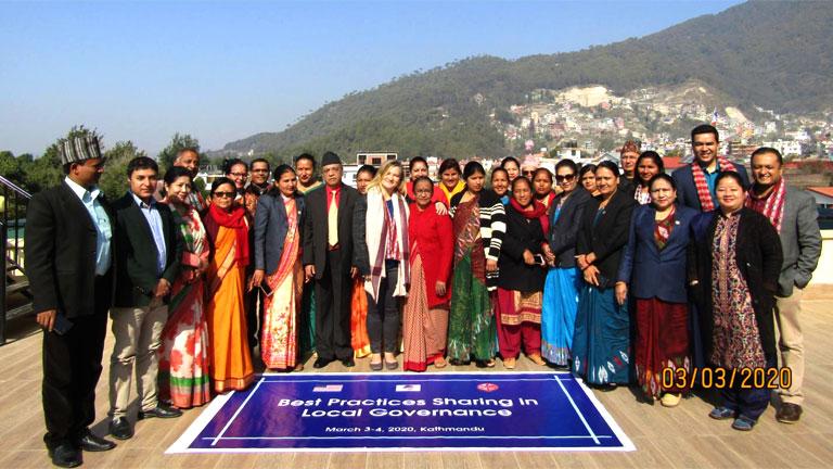 स्थानीय सुशासनमा अनुभव आदान प्रदान सम्बन्धी कार्यशाला काठमाडौंमा (२०७६/११/२०)