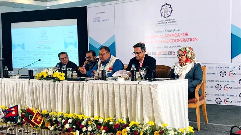 चेन्नाईमा आयोजित कार्यक्रमलाई महासंघका विशिष्ट सदस्य ढकालबाट संवोधन: वातावरण परिवर्तनबाट हुन सक्ने असरलाई न्यूनिकरण गर्न दक्षिण एशियाली देशका सरकारहरूको दरिलो सहकार्यमा विज्ञहरूको जोड (२०७५/०७/२५)