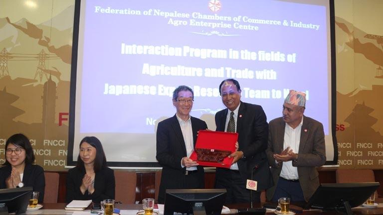 Japanese Team at FNCCI