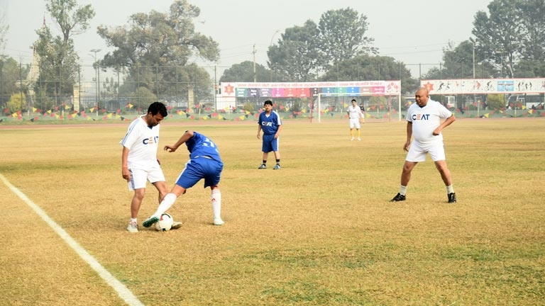 Friendly Football Match between FNCCI vs Tax Administration