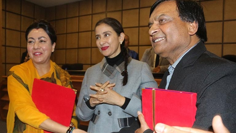 Social Talk on Cancer Awareness with Manisha Koirala