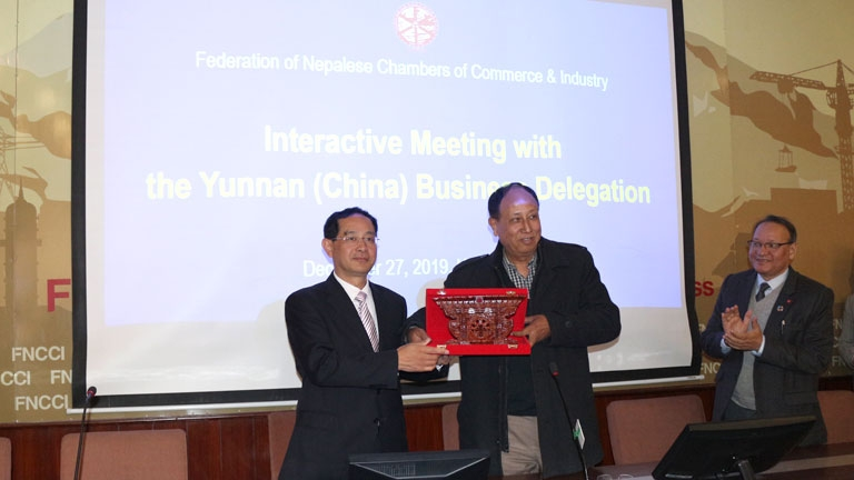 Interactive Meeting with the Ynnan (China) Business Delegation