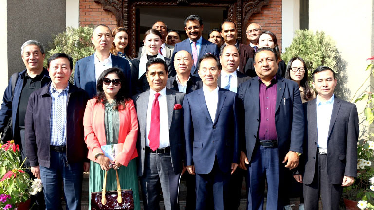 Meeting with ACFIC / Sichuan Delegation at FNCCI