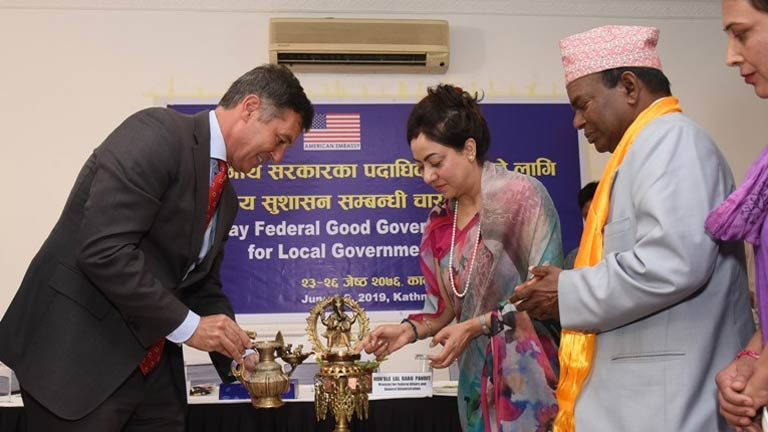 Federal Good Governance Training for Local government Officials