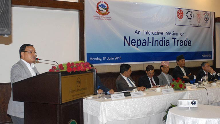 Interaction on Nepal-India Trade