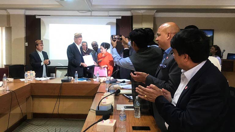 Budget suggestion handover to Hon'ble Finance Minister
