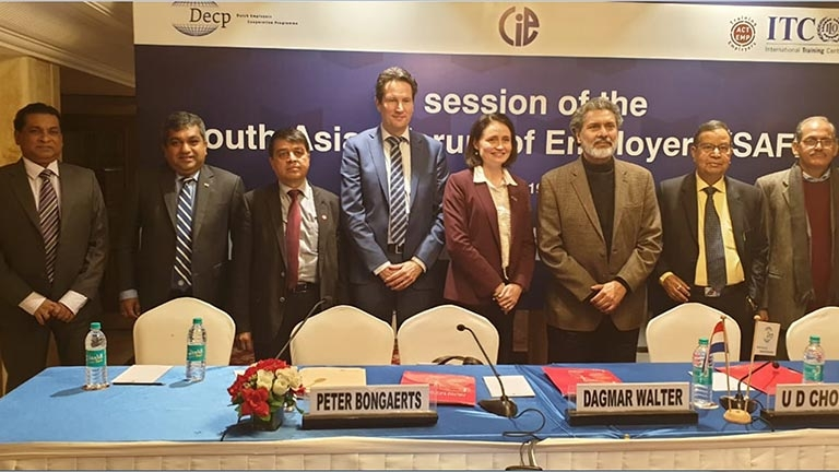 8th Session of the South Asian Forum of Employers - SAFE
