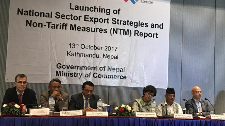 Lunching of National Sector Export Strategic and Non-Tariff Measures (NTM) Report