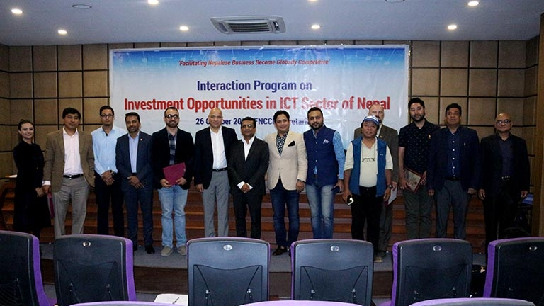 Interaction Program on Investment Opportunities in ICT Sector of Nepal