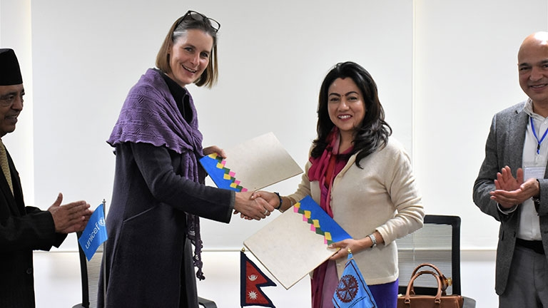 Mou Signing between FNCCI and UNICEF