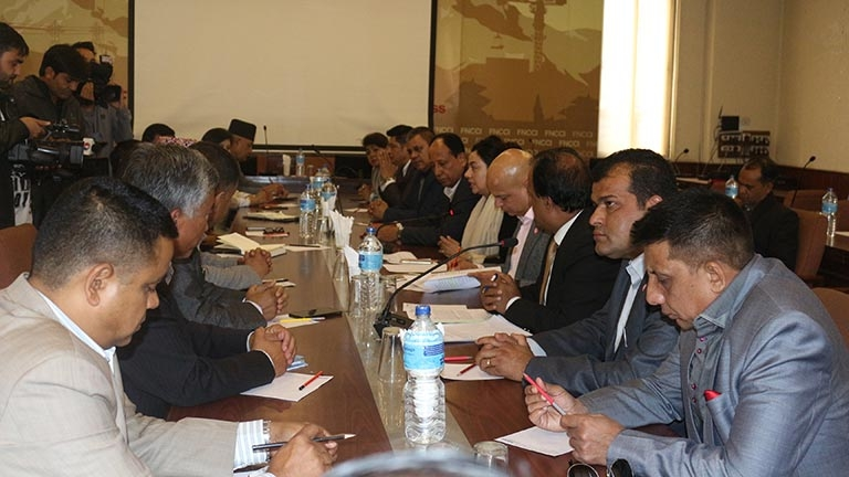 Meeting with newly appointed Ambassadors of Nepal