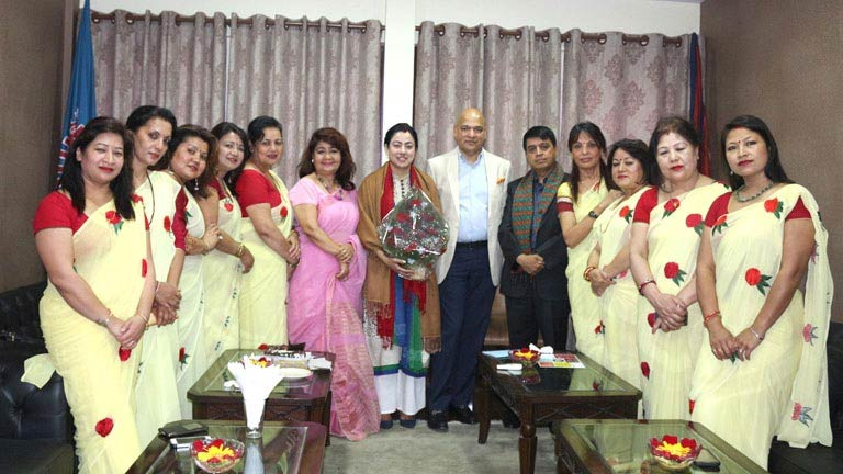 FNCCI OB meeting with Women Delegation