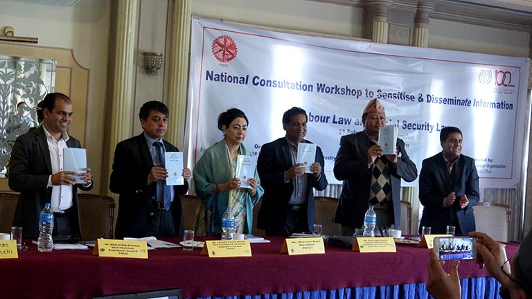 National Consultation Workshop to Sensitise & Disseminate Information on Labour Law and Social Security Law