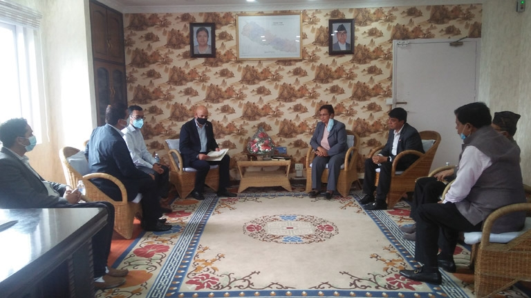 Meeting with Minister for Energy, Water Resources and Irrigation