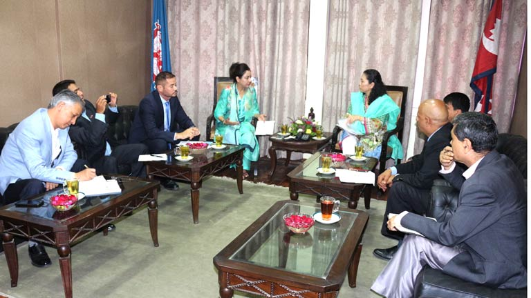 Meeting with  ILO Assistant Director General and Regional Director for Asia and Pacific