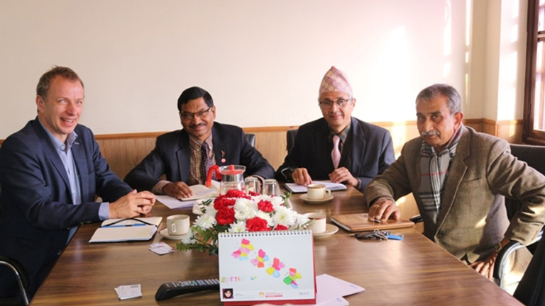 Meeting with UNIDO Representative Regional Office, India