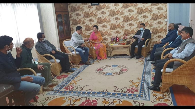 Meeting with Honourable Minister for Energy, Water Resources and Irrigation