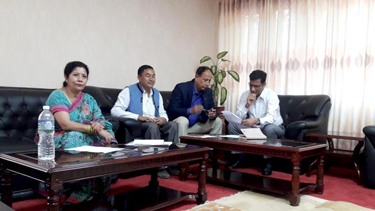 Meeting with Honourable Minister for Forest and Environment