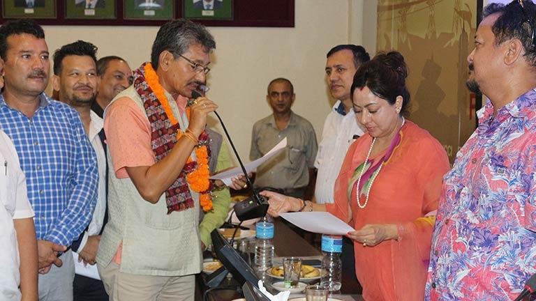 Nirak K.C. elected as Treasurer of FNCCI
