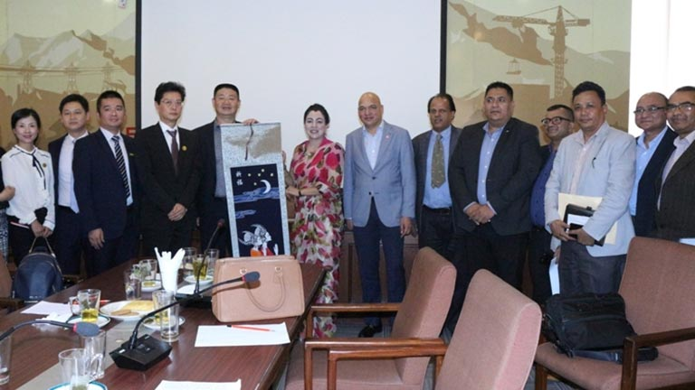Meeting with Chinese Delegates