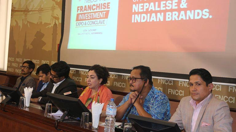 Press Meet on Nepal-India Franchise Investment Expo & Conclave