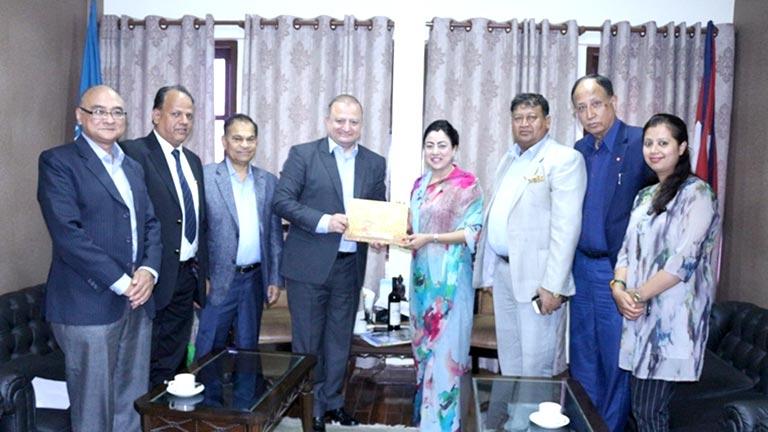 Meeting with Georgian Ambassador Mr. Archil Dzuliashvili