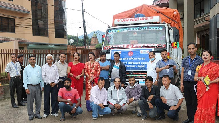 FNCCI Relief Material send to Flood Victims