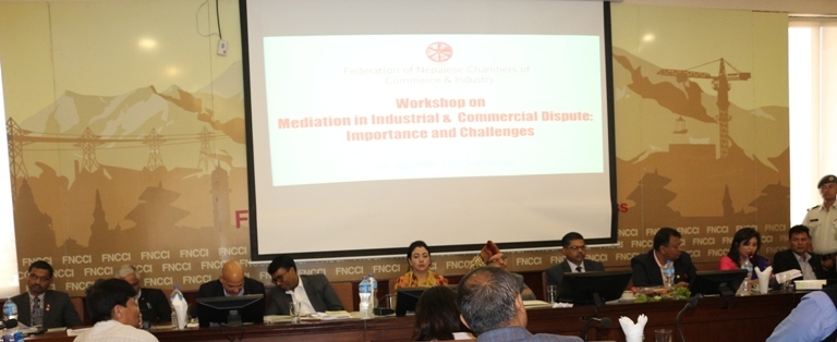 Interaction On Mediation in Industrial &  Commercial Dispute: Importance and Challenges