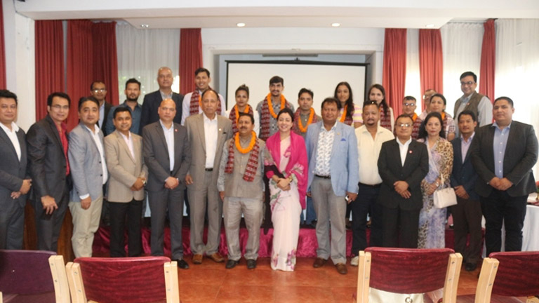 welcome & congratulations program to newly elected team of Sejon