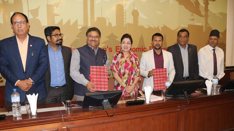 MoU signing between FNCCI-Province 3 and MIICCIA
