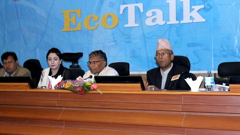 EcoTalk: Interaction with Honourable Minister for Industry, Commerce & Supplies