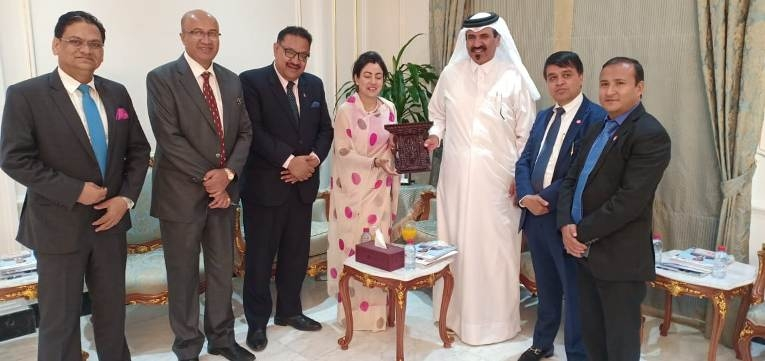 FNCCI Business Delegation in the Rt. Honourable President of Nepal\'s Official Visit to State of Qatar